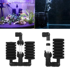 Harga Double Head Sponge Air Pump Aquarium Filter With Suction Cup Intl Asli