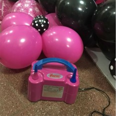 Double Hole AC Inflatable Ball Pump Electric Air Balloon Pump Globe To Inflate with Portable Fan Air Compressor Pump