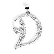 Spesifikasi Dparis Initial D Pendant Silver Dan Harga