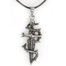 Rp 26.680. Pedang Naga Laki Perhiasan Kalung Pasangan Pria ...