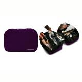 Jual D Renbellony Cosmetic Bag Organizer Purple Dompet Kosmetik Tas Kosmetik Beauty Case Original