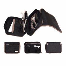 Kualitas D Renbellony Gadgets Pouch Organizer Black Dompet Aksesoris Gadgets Hp D Renbellony