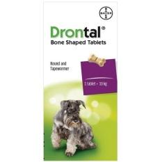 Drontal Dog - Obat Cacing untuk Anjing per Tablet