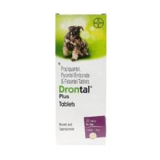 Toko Drontal Dog Plus Flavour 3 Tablet Obat Cacing Untuk Anjing Yang Bisa Kredit