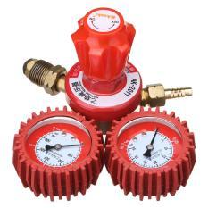 Ganda Gauge Argon Regulator Las Acetylene Cylinder Tekanan Peredam 5/8 Inci Obor Memotong-Internasional