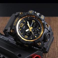 Spesifikasi Dual Time Analog Digital Sportwatch Jam Tangan Pria Skmei 1155 Dan Harga