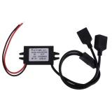 Dual Usb 12 V Untuk 5 V Dc Dc Inverter Konverter Adaptor Daya Turun Intl Asli
