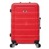 Spesifikasi Dupont Koper Hardcase No Zipper Size 24 Inch 8775 Merah Yang Bagus Dan Murah