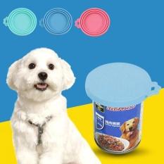 Tahan Lama Cat Dog PET Makanan Ringan Makanan Penyimpanan Bisa Menutupi Tutup Silikon (Biru)-Intl