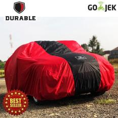DURABLE SELIMUT MOBIL RED LIST BLACK For DAIHATSU COPEN