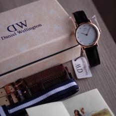 Beli Dw Jam Tangan Wanita Cewek Dw Paket Dw0109 Rosegold B Dw Indonesia
