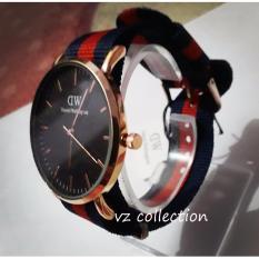DW Kanvas jam tangan pria sangat nyaman dipakai