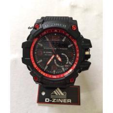 Toko Jual Dziner Dual Time Jam Tangan Pria Terbaru Dz 30317 Nw Df