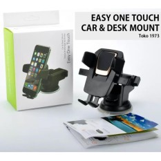 Easy One Touch Universal Car & Desk Mount Phone Holder By Toko1973.