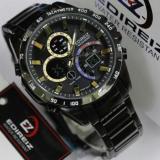 Spesifikasi Edireiz 8106 Bg Jam Tangan Pria Hitam Bagus