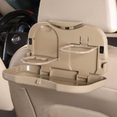 Eigia Meja Lipat Mobil Car Multifunction Foldable Seat Back Meal Table Tempat Makanan Minuman Food Drink