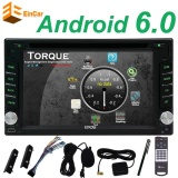 Promo Eincar Android 6 Marshmallow 6 2 Inch Quad Core Head Unit Android Double Din Car Stereo Mendukung Navigasi Gps Car Dvd Player Dalam Dash 2 Din Mobil Radio Bluetooth Hd Layar Sentuh Capacitive Car Video Player With Wifi Gratis Eincar