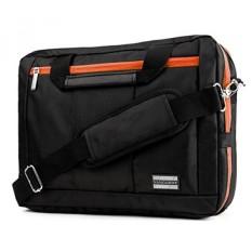 EL Prado 3-in-1 Hybrid Orange Trim Laptop Bag for MSI X Leopard / Dominator / Stealth Pro / Apache Pro / Mobile Workstation / Phantom Pro 14-15.6in - intl