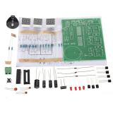 Harga Dibetulkan Kit Modul Jam Elektronik At89C2051 6 Komponen Alat Digital Memimpin 9V 12V Lengkap