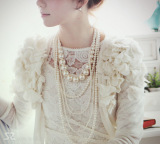 Perbandingan Harga Elegan Korea Fashion Style Mempelai Wanita Mewah Dan Cantik Kalung Mutiara Other Di Tiongkok