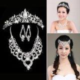 Iklan Kalung Imitasi Mewah Elegan Subang Crown Yang Ditetapkan Partai Pernikahan