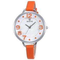Spesifikasi Elegan Wanita Jam Tangan Genuine Leather Strap Gerakan Kuarsa Berkualitas Tinggi Watch Dan Harganya