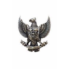 Elfs Shop - Liontin Pria Stainless Steel SGZ53 Garuda Indonesia Gold