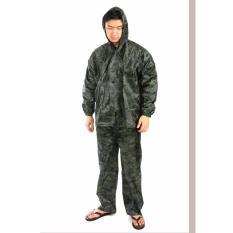 Toko Elfs Shop Setelan Jas Hujan Army Hijau Tua Lengkap Di Dki Jakarta