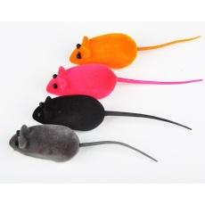 Elife Novelty Lucu Utterance Tahan Gigitan Karet Tikus Tikus Mainan Untuk Kucing Anjing Hewan Peliharaan-