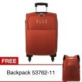 Spesifikasi Elle Tsa 55819 11 Koper 19 53762 11 Backpack Orange Lengkap Dengan Harga
