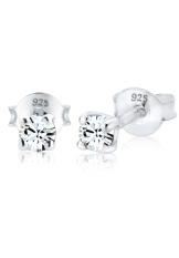 Elli Germany 925 Sterling Silver Anting Classic Swarovski® Crystals Putih Diskon Akhir Tahun