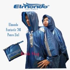 Toko Elmondo Funtastic 708 Ponco 2 In 1 Dua Kepala Biru Elmondo Indonesia