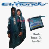 Beli Elmondo Funtastic 708 Ponco 2 In 1 Dua Kepala Hijau Dengan Kartu Kredit