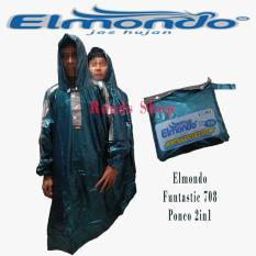 Harga Elmondo Funtastic 708 Ponco 2 In 1 Dua Kepala Hijau Online Dki Jakarta