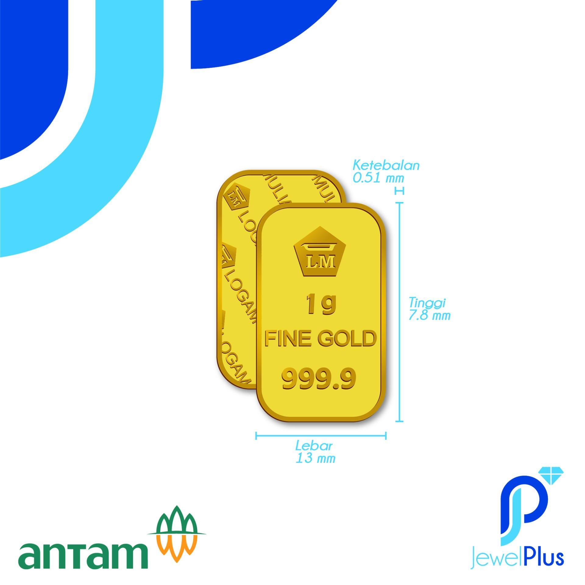 Logam Mulia 1 Gram7 Daftar Harga Terbaik Dan Terlengkap Indonesia Antam Gold 2 Gram Bersaingnbsp Emas Bersertifikat