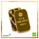 Spesifikasi Emas Antam Logam Mulia 25 Gram Bersertifikat Terbaik