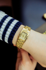 Emas Berlapis Emas Matte Style Shi Ying Menonton Watch Jam Tangan Wanita Tiongkok Diskon