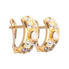 Emas Gold Gloria Anting Giwang Emas Klep Bangkok