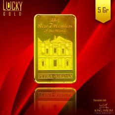 ... 5 GRAM FINE GOLD 9999 Source Emas King Halim Logam Mulia King Halim Motif Petra Jordan