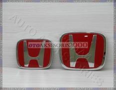ORI Khusus Brio HRV Mobilio BRV Jazz DLLIDR365000 Rp 370000 Logo Emblem Honda Red Brv Merah Depan BelakangIDR370000 395300