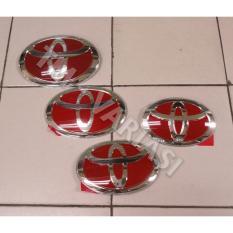 Emblem Logo Toyota Merah 14cm JDM ORI Premium ExclusiveIDR165000 Rp 165000