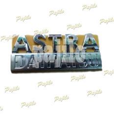 Rp 89000 Aksesoris Mobil Sigra Emblem Logo Tulisan Astra Daihatsu Bodi Body Metal Sticker Stiker Asesoris