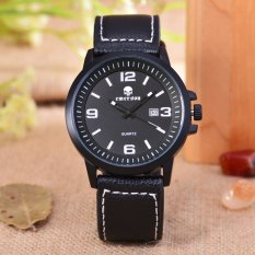 Harga Emerson Jam Tangan Pria Body Black Black Dial Black Leather Strap Em 5597 Tgl Bb New