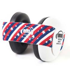 Jual Em S Earmuff 4 Bubs Baby White Star Stripe Ori