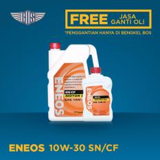 ENEOS MOTOR OIL SN 10W-30 (4 Liter) - [ GRATIS JASA DAN CHECK-UP ]