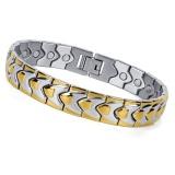 Diskon Energy Bracelet Silver Gold Osb 003Sg