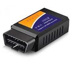 Eocean Car WiFi OBDII Scanner, OBD2 Mobil Scan Alat, Mobil Alat Diagnostik, OBD2 Scanner, Nirkabel Mobil Coder Reader, Check Engine Li-Intl