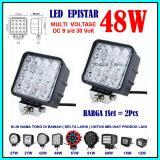 Beli Pro Parts Epistar 2 Pcs Lampu Sorot Led 48 Watt Lampu Tembak Led Spot Light Work Light Led 48W 12 V 24 V 12 Volt 24 Volt Untuk Mobil Motor Offroad Truk Alat Berat North Sumatra