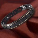 Harga Era Pria Sl0068 Titanium Steel Health Energi Anti Kelelahan Gelang Perhiasan Hadiah Intl Empireera Baru
