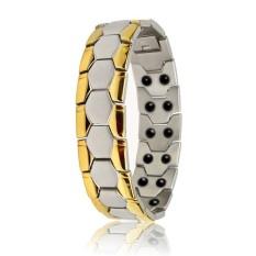 ERA Stainless Steel Titanium Bracelet Health Care Germanium Magnet Bracelet - intl